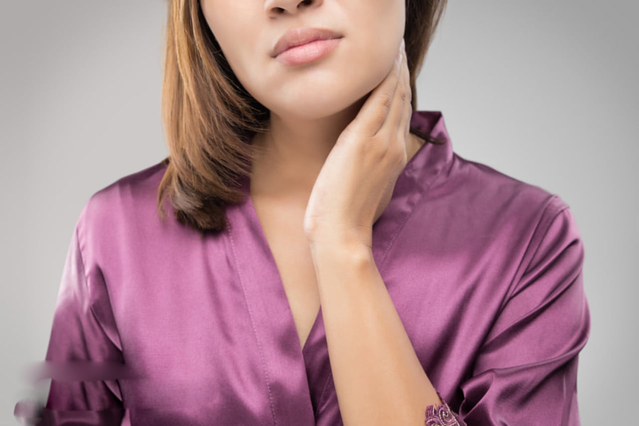 صورة نقص افراز الغدة الدرقية , أسباب وأعراض و نتائج نقص افراز الغدة الدرقية