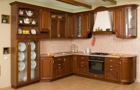 صورة اختاري مطبخك من الخشب , موديلات المطابخ الخشبية