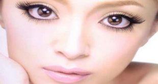 صورة اجعلي عيونك واسعة وجذابة , طريقة توسيع العين