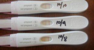 صورة اختبار الحمل الصحيح , وكيفية عمله بشكل صحيح في المنزل unnamed file 164 310x165